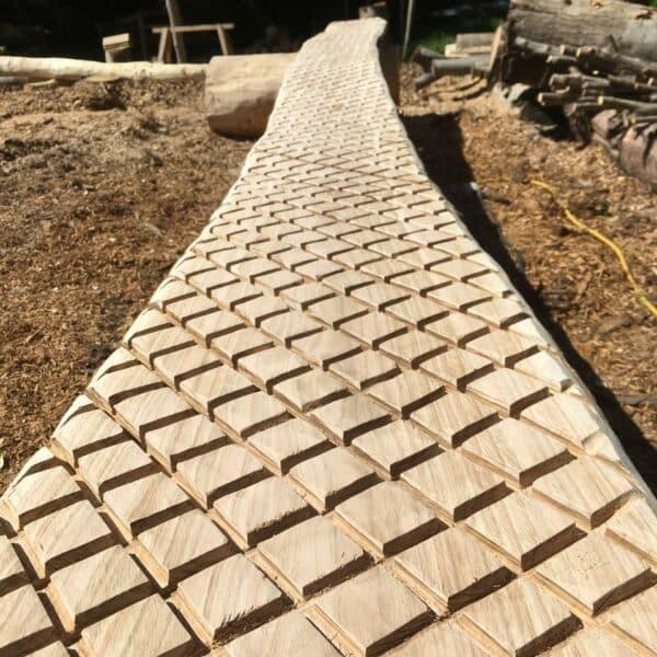 Wooden Walkway Closeup