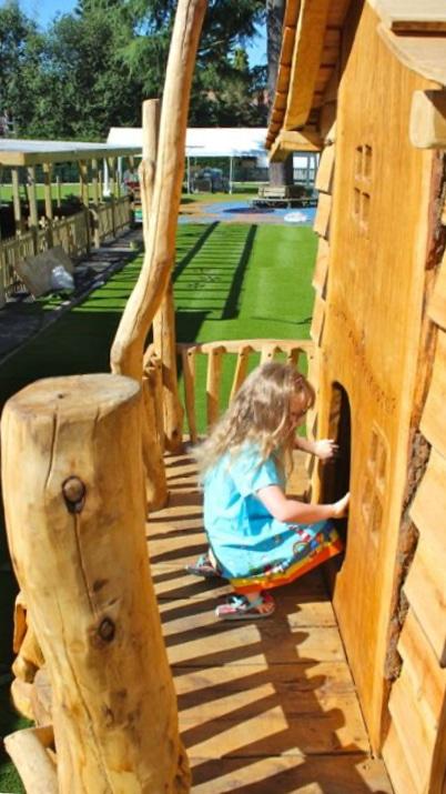Kids Wooden House