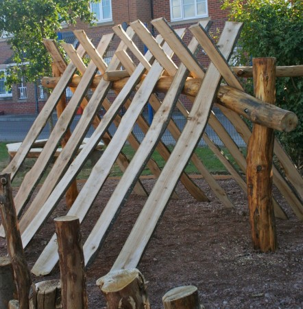Den with Planks