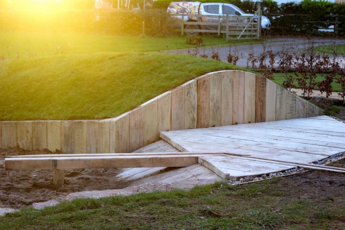 Mound and Sand Pit