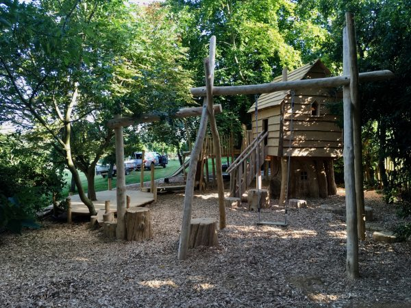 Play Area in Forest