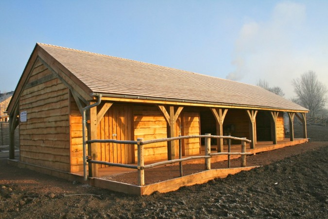 Wooden Large Building