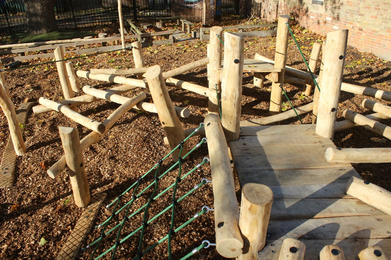Wooden Play Frame